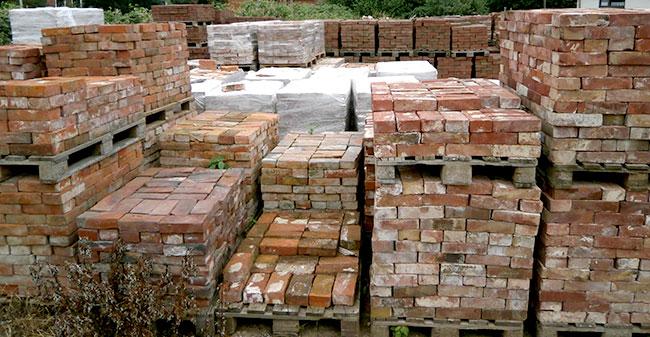Antike Baustoffe bose antike baustoffe feldbrandsteine rotsteine ziegelsteine